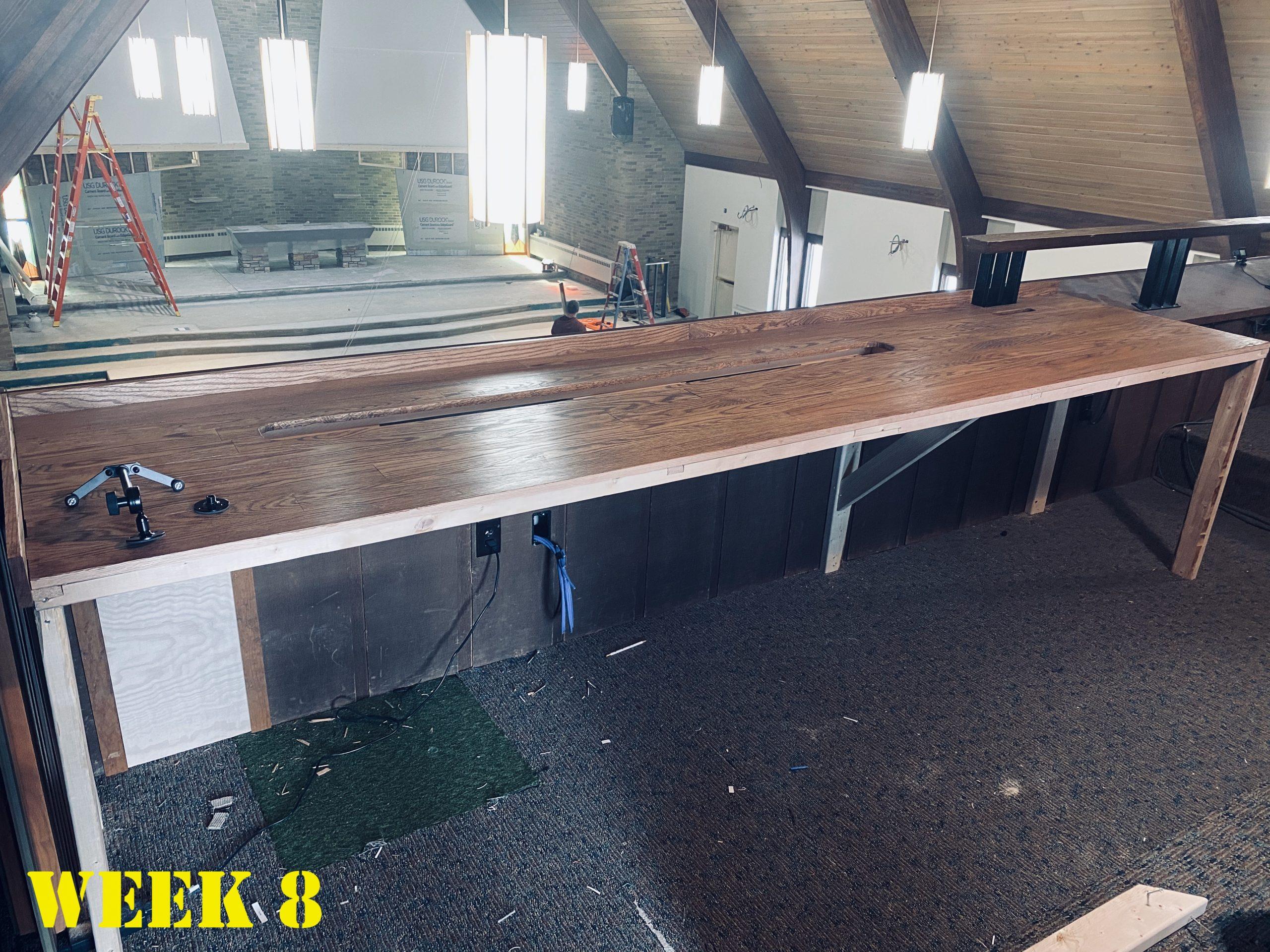 Week 8 Desk